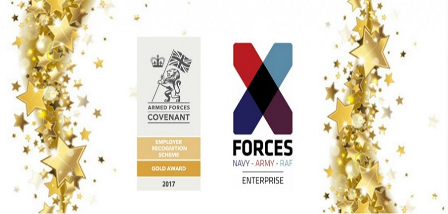 XFE Employer recognition Gold Award winners
