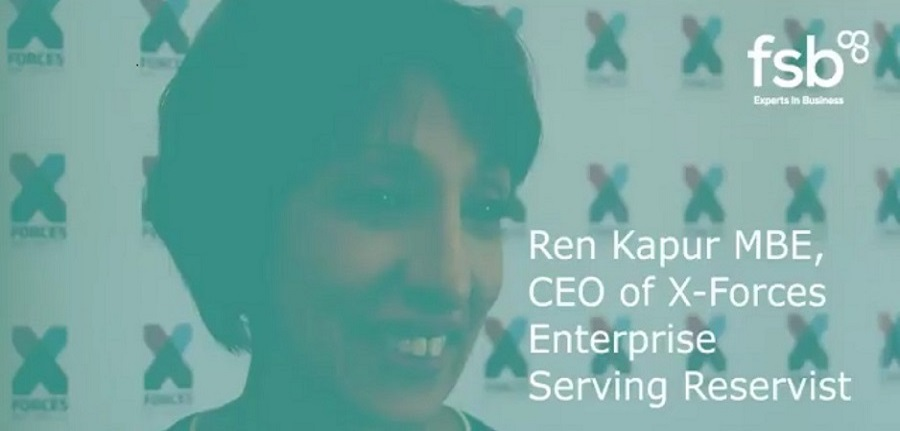Blog - Ren Kapur MBE, Founder and CEO, X-Forces Enterprise