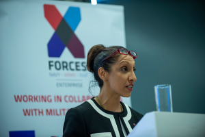 Lt. Col. Ren Kapur MBE CEO X-Forces Enterprise