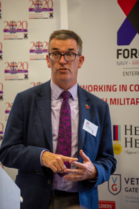 Mark Collins, Assistant Director, The Royal British Legion