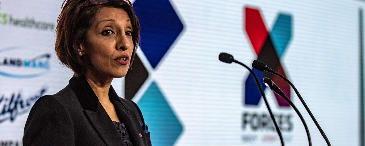Ren Kapur Speaking at a conference